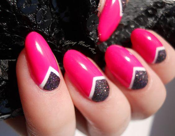 Shiny Nail Art