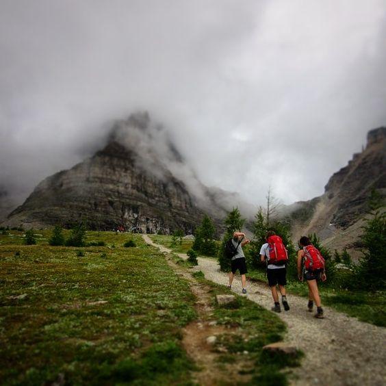 Sentinel Pass, Banff National Park, Alberta.