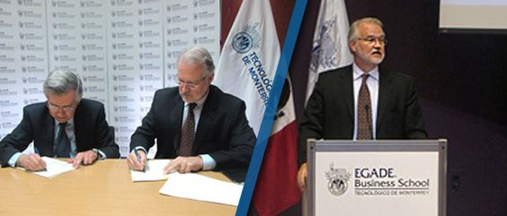 Firma EGADE Business School acuerdo con London School of Economics and Political Science.