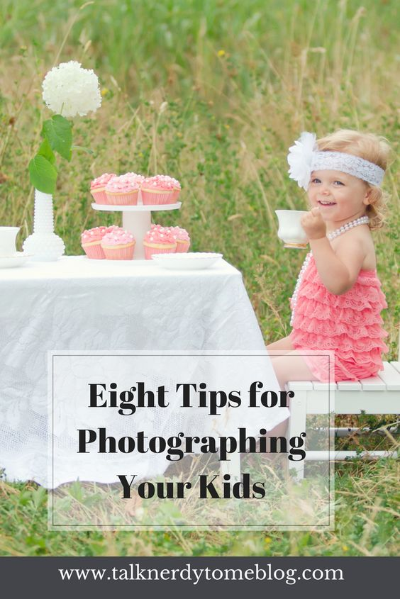 Eight simple tips for taking better photos of your children!