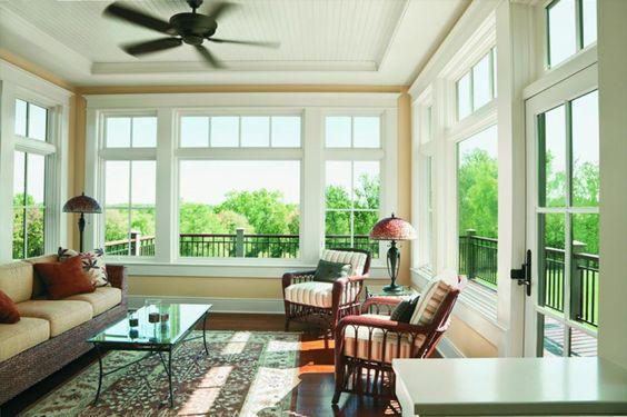 Top Sunroom Window Ideas And Treatments
