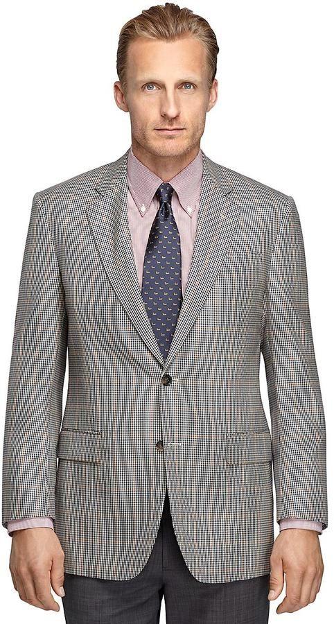 Madison Fit Plaid Sport Coat