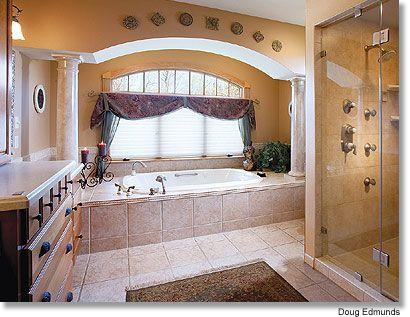 I would love a big bathroom...