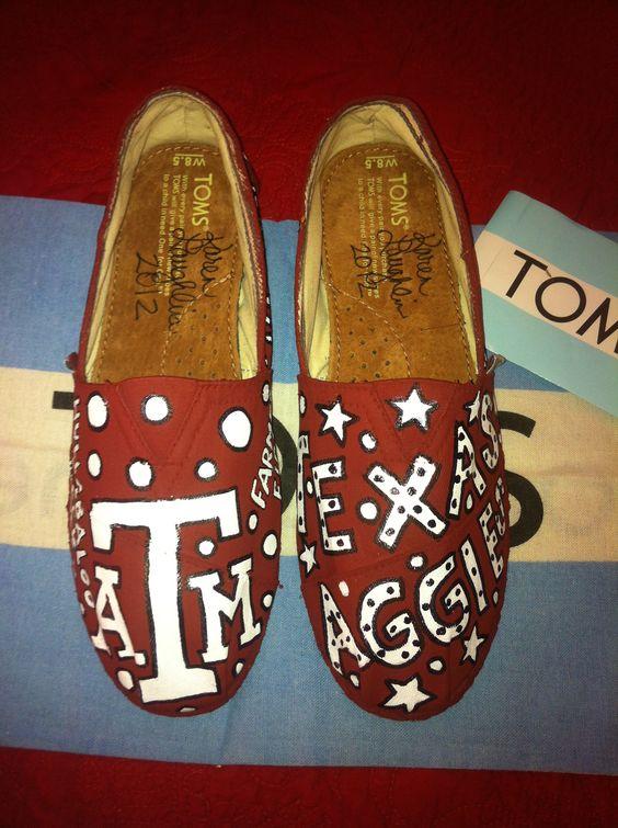 Texas Aggie Toms by:  Karen Laughlin