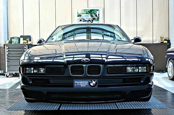 BMW 8 series black