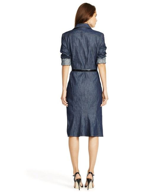 Polo Ralph Lauren Denim Button-Down Shirtdress