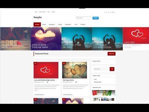 Sangita Blogger Template Premium Version Download Now Its Fast