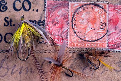 Old Farlow's fishing box with flies. January 31. - Richard Donkin's Photos