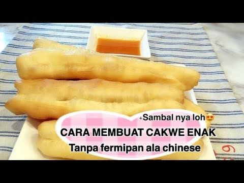 Cara Membuat Cakwe Yang Enak Ala Chinese Tanpa Fermipan Youtube Ide Makanan Resep Makanan Makanan Dan Minuman