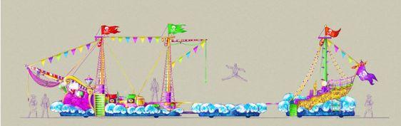Flutuador dos Piratas