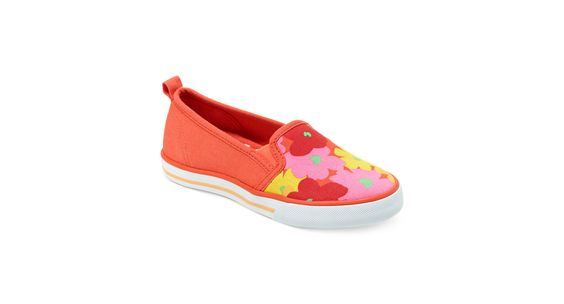 Hanna Andersson Girls' Lillian Floral Slip-Ons