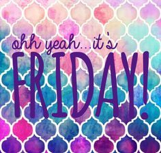 It's finally FRIDAY! Enjoy a fun night out...with fabulous lashes of course!
