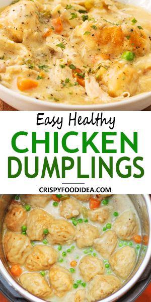 Chicken Dumplings Recipe