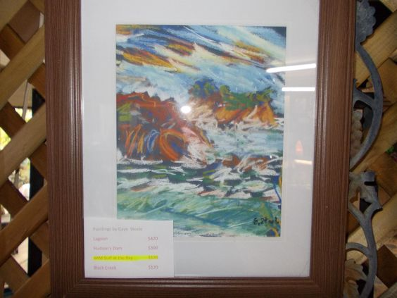 Wid Surf at the BAy by Gaye Steel  $120
