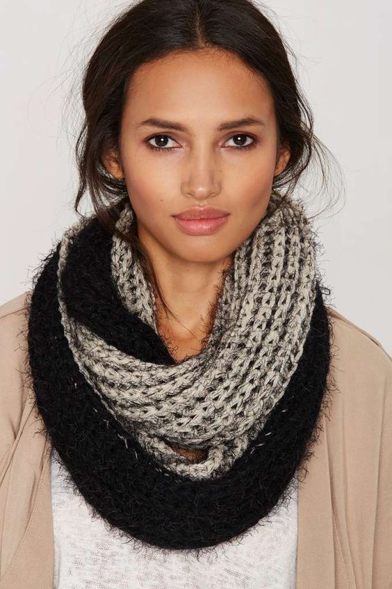 Tone It Up Knit Infinity Scarf Shop Accessories At Nasty Gal Fashion Pinterest Shops