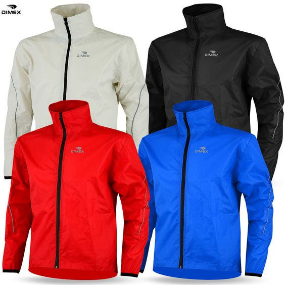 Details about Mens Cycling Jacket High Visibility Waterproof
