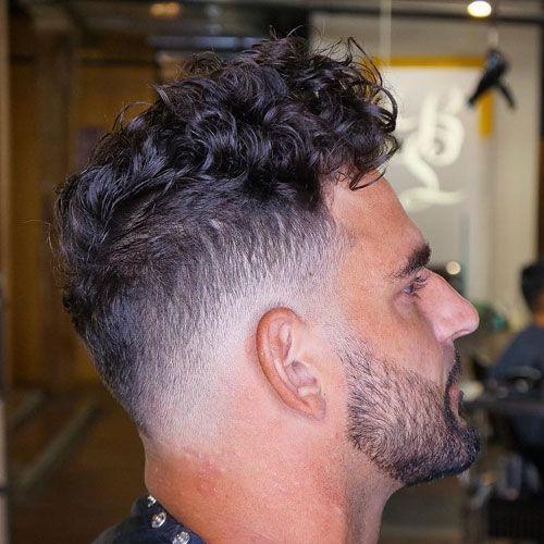 Curly Hair Fade Beard Curly Hair Men Wavy Hair Men Curly Hair Fade