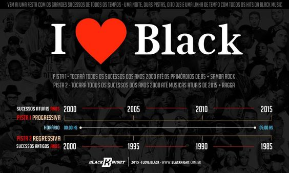 I Love Black - Balada Black Night - Sambarylove