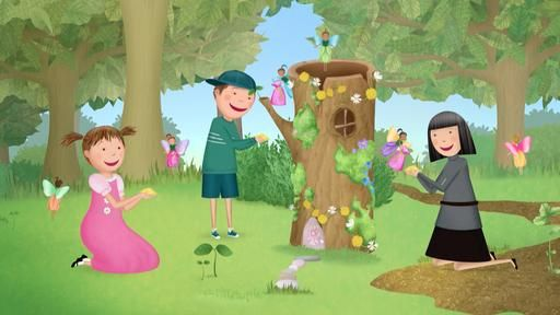 You Can Build Your Very Own Fairy House For Your Fairy Friends Just Like Pinkalicious And Peter Did All You Need Is N Pbs Kids Visual Art Lessons Pinkalicious