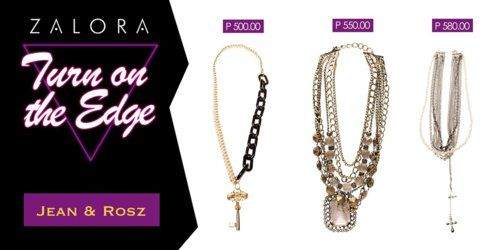 Check out Jean & Rosz edgy neckpieces perfect for a concert or any hard hitting event!