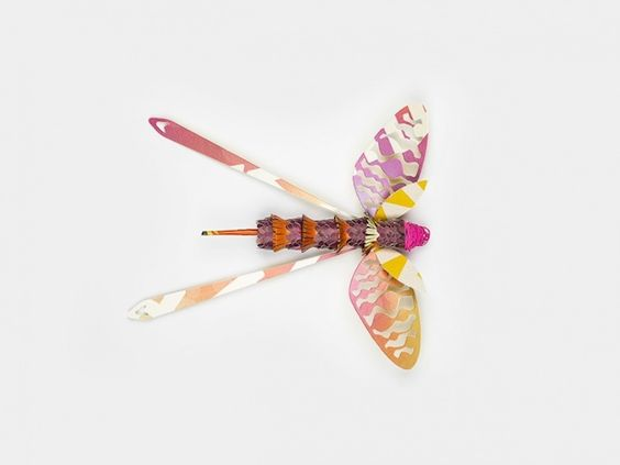 Recycled Paper Insects-6