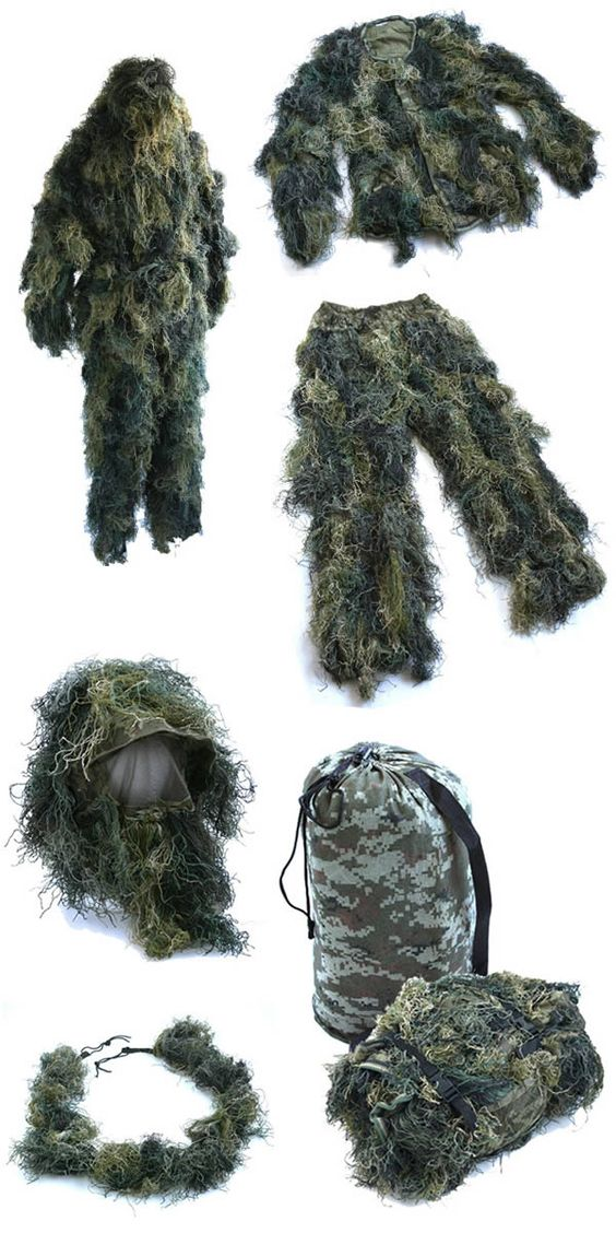 Military Ghillie Suits