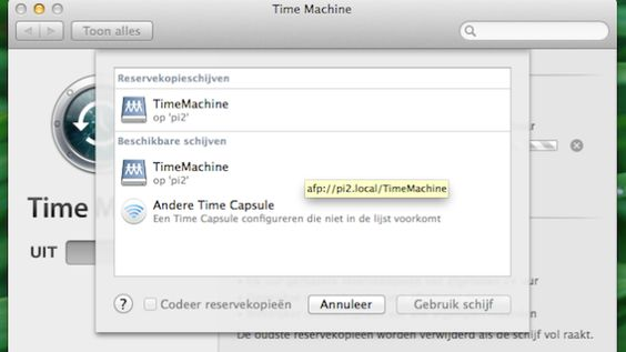 Build a Time Machine Backup Server (for Apple products) with a Raspberry Pi