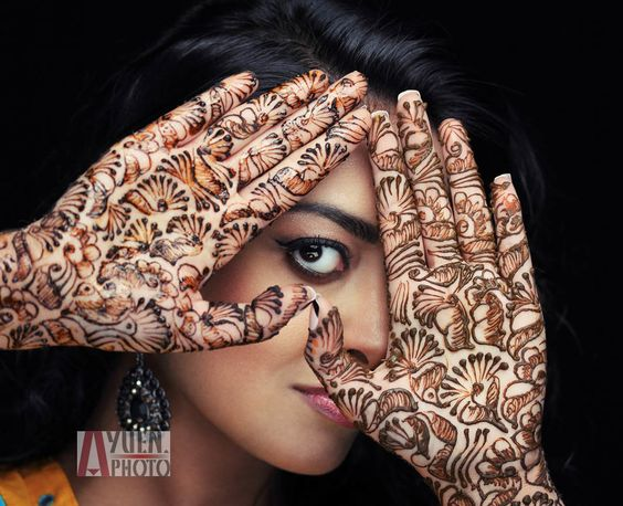 Mehndi For Head : Head shot natasha by anthony yuen on px people
