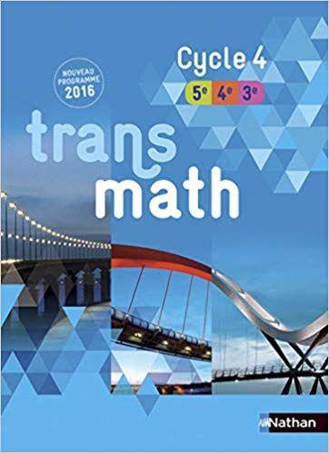 Telecharger Transmath Cycle 4 Nouveau Programme 2016 Pdf Gratuit In 2021 Books What To Read Ebook