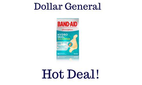 Nice Band Aid Hydro Seal Free Dollar General Http Wp Me P56eop W4l Band Aid Free Dollars Dollar General