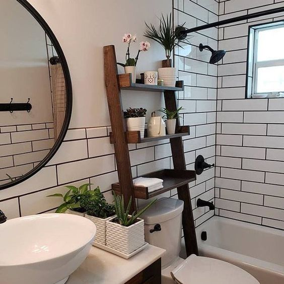 Bathroom Shelves Ideas More Storage In The Bathroom Muebles