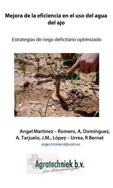 Mejora de la eficiencia en el uso del agua del ajo, mediante estrategias de riego deficitario optimizado - publicaciones.poscosecha.com