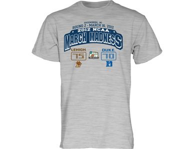 Duke's greatest humiliation at the hands of our good neighbors from the Lehigh Valley. It's mine.
