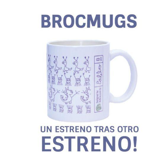 Ya tenemos las BrocMugs disponibles en nuestra web www.mrbroc.com ¡Te van a saber mejor los desayunos!