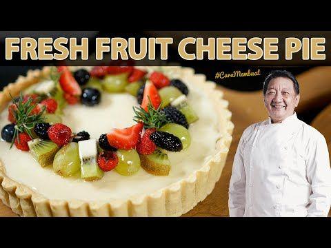 Cara Bikin Kulit Pie Yang Enak Dan Renyah Fruit Cheese Pie Caramembuat Youtube Pastry Makanan Pai