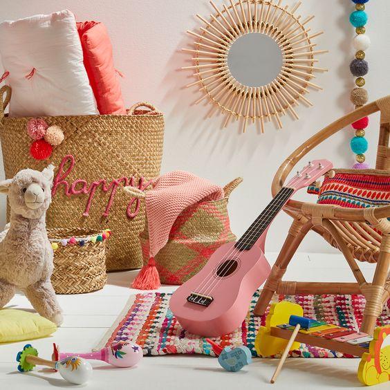 chambre d'enfant lama