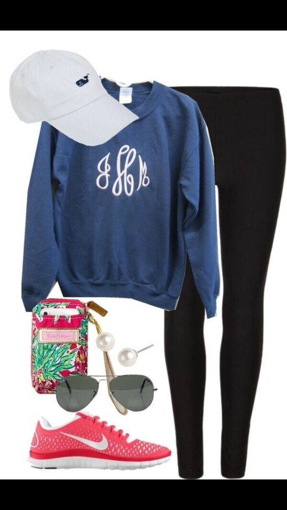 gorgeous sporty preppy outfits women