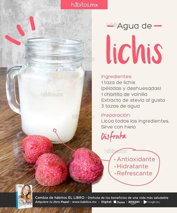 Hábitos Health Coaching   AGUA DE LICHIS