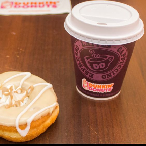 Dunkin' Donuts in Köln, Big fan of the donuts, but not the hot chocolate