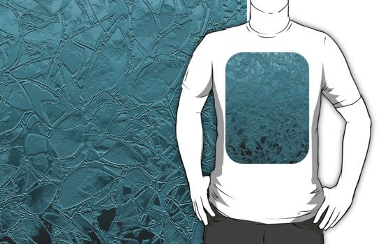 T-Shirt Grunge Relief Floral Abstract #Redbubble #shirt #Grunge #Relief #Floral #Abstract