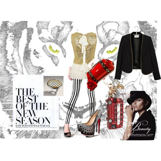 """Eye of the Tiger 9-5-12"" by kmcmillion on Polyvore"