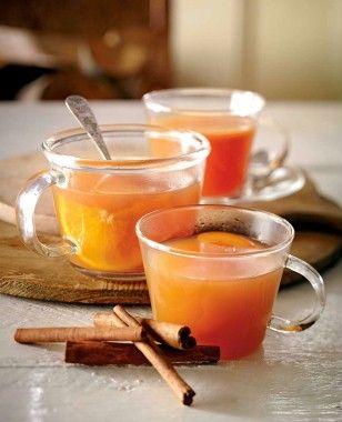 Würziger Apfelpunsch Rezept