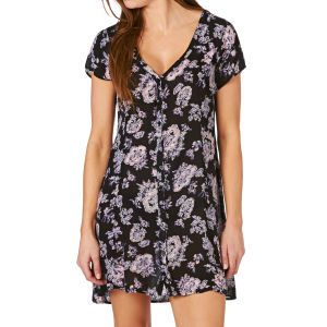 Billabong Festival Dreams Dress - Black Floral | Free UK Delivery*