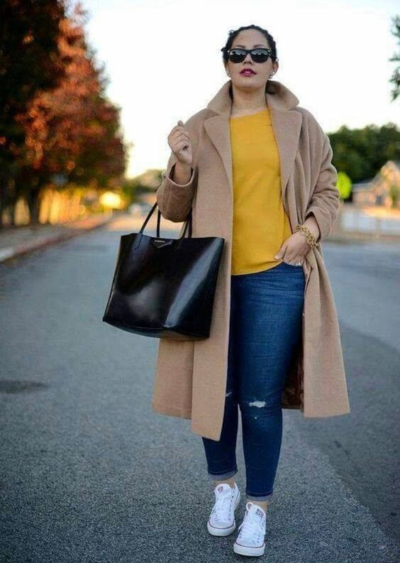 27 Plus Size Outfits To Rock Your Spring Style outfit fashion casualoutfit fashiontrends