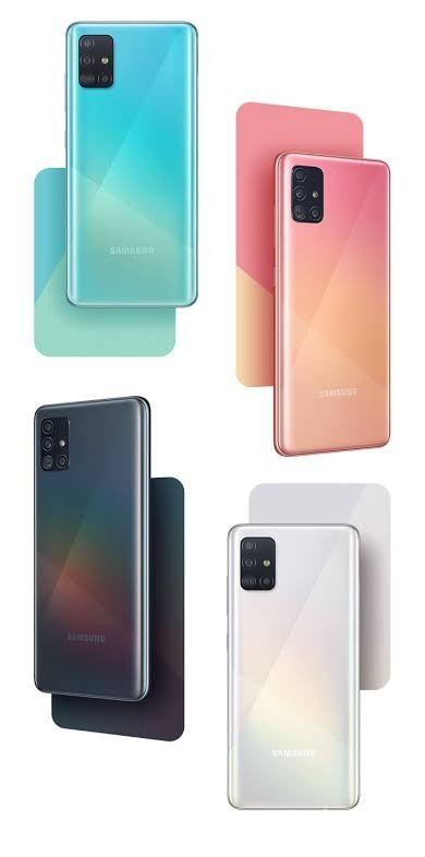 Samsung Galaxy A51 Ponsel Teknologi Penyimpanan