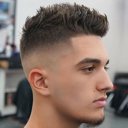 45 Best Spiky Hairstyles For Men 2020 Guide Mens Haircuts Short Mens Hairstyles Short Curly Hair Men