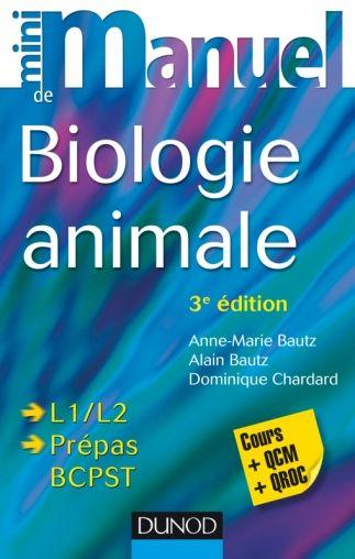 Mini Manuel De Biologie Animale 3e Ed Pdf Biologie Livre Numerique Chimie Des Solutions