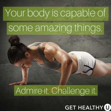 Your body is capable of some amazing things. Admire it. Challenge it. | Repin to stay motivated!