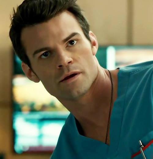 Dan as Dr. Joel