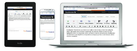 ReadSpeaker TextAid